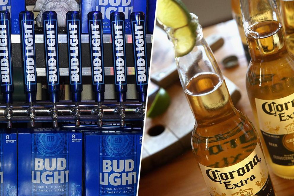 America's favorite beer: Bud Light or Corona?