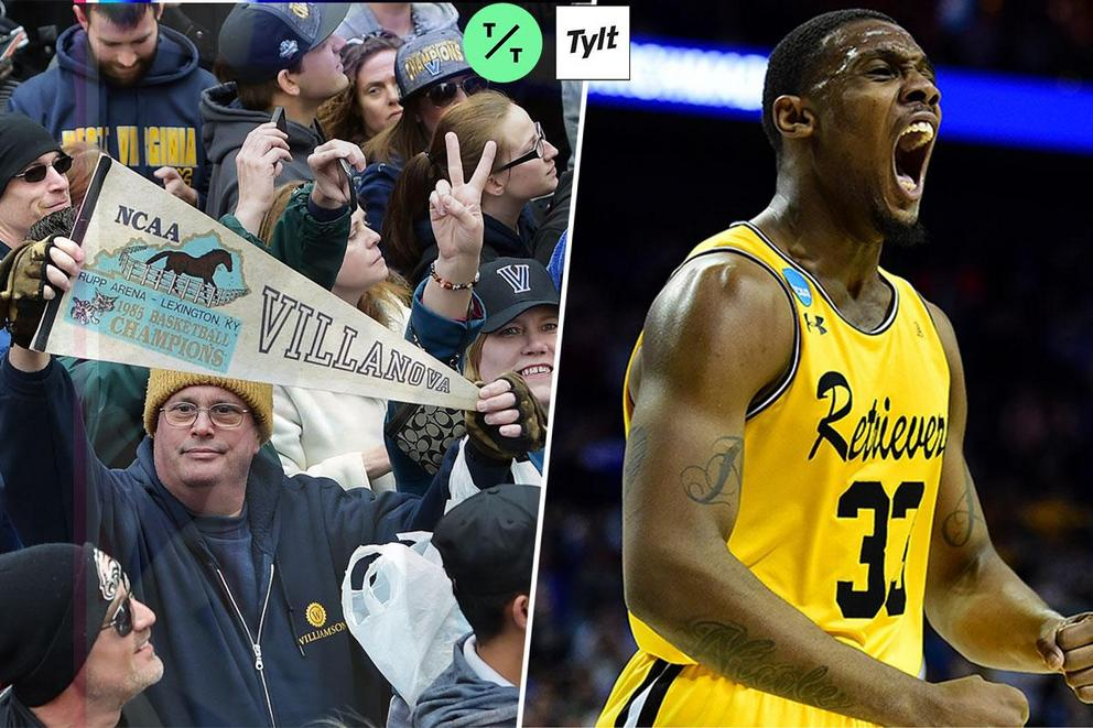 What was the biggest NCAA Championship upset: Villanova-Georgetown or UMBC-Virginia?