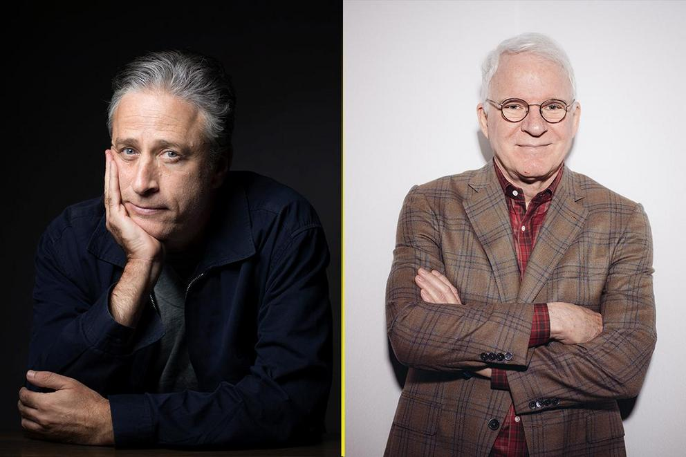 Who's the funniest comedian: Jon Stewart or Steve Martin?