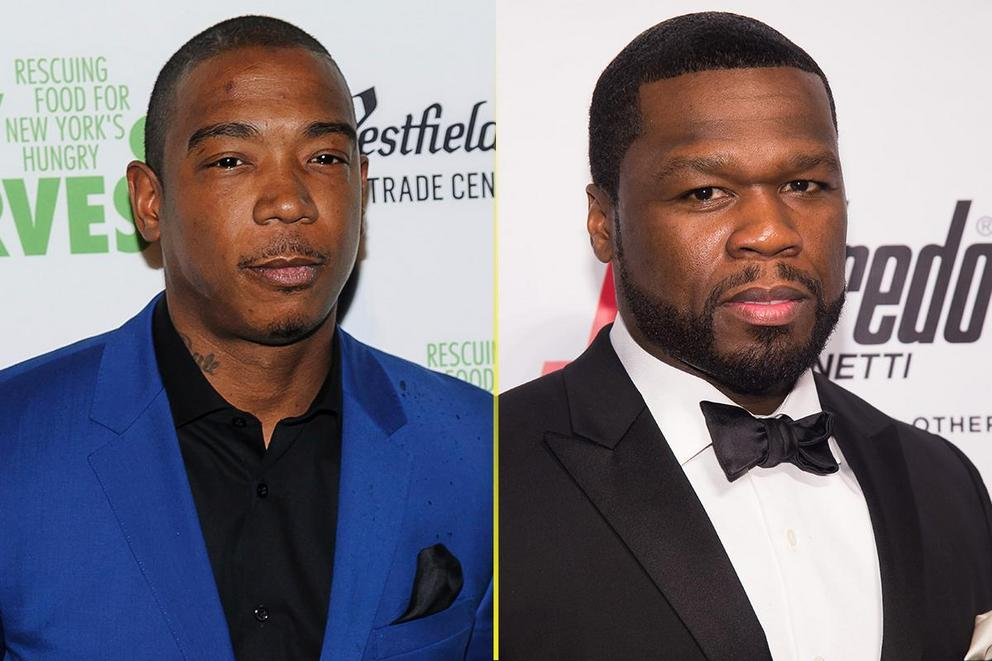 Who won the legendary rap beef between Ja Rule and 50 Cent?