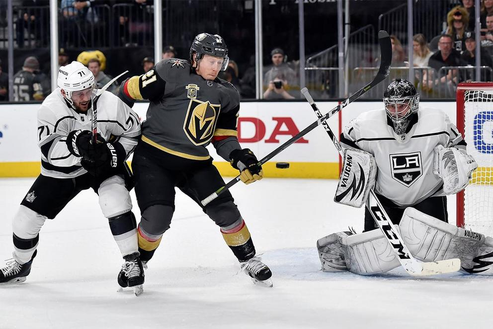 Who will survive the first round of NHL playoffs: Vegas Golden Knights or Los Angeles Kings?