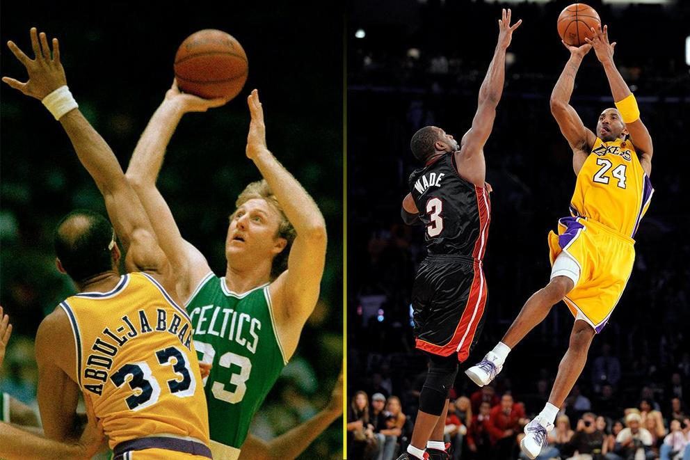 Who do you want taking the last shot: Larry Bird or Kobe Bryant?
