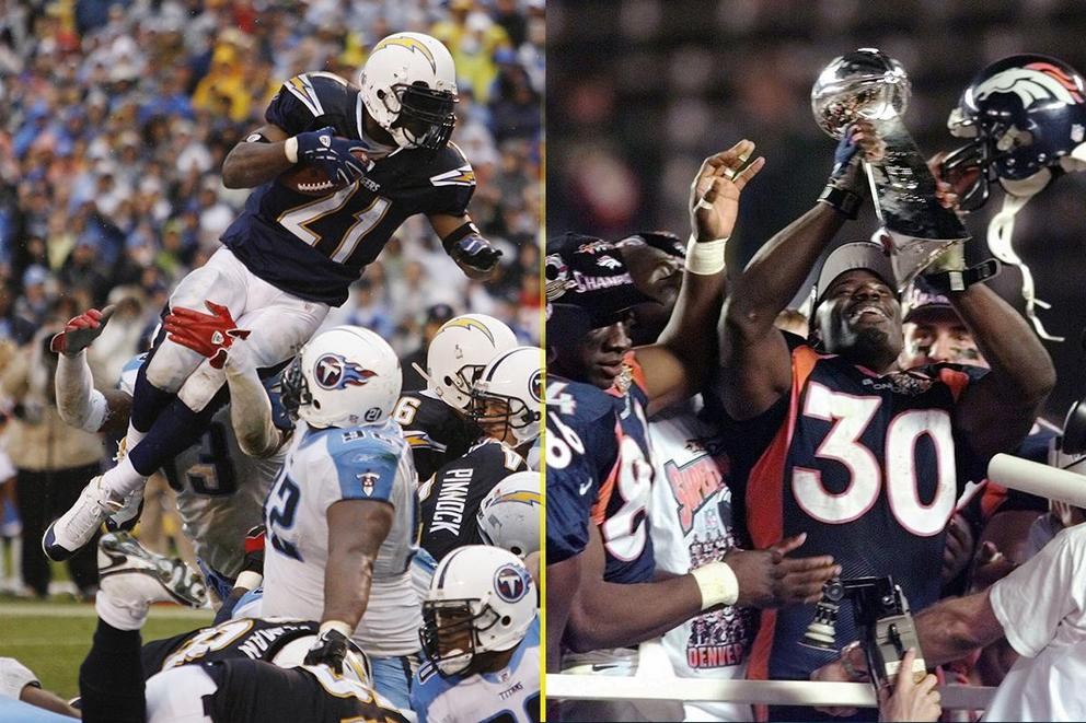 Best running back in the 2017 Hall of Fame class: LaDainian Tomlinson or Terrell Davis?