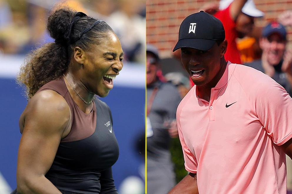 Who will win their next major first: Serena Williams or Tiger Woods?