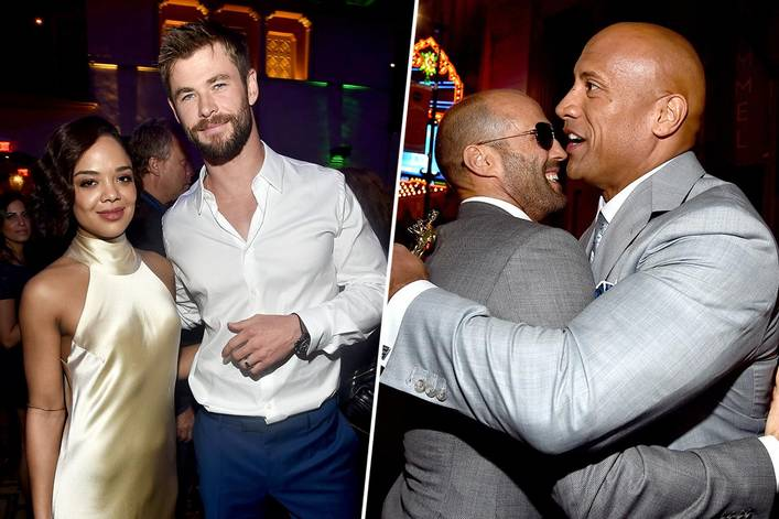 Most anticipated 2019 action-buddy movie: 'Men in Black International' or 'Hobbs and Shaw'?
