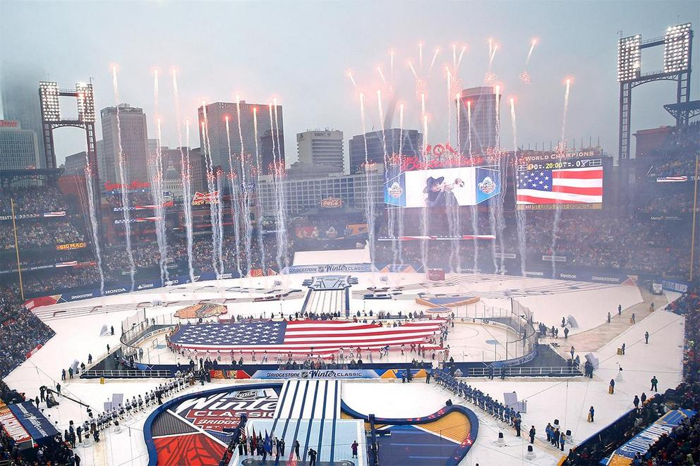 Are outdoor hockey games overrated?