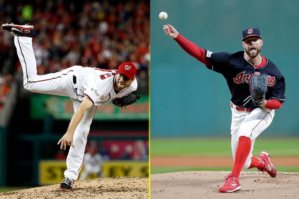 Who was the best pitcher in all of baseball in 2017: Max Scherzer or Corey Kluber?