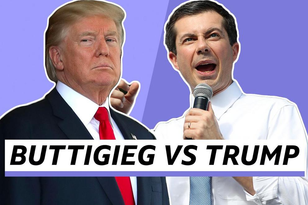 Who do you want to be president—Pete Buttigieg or Donald Trump?