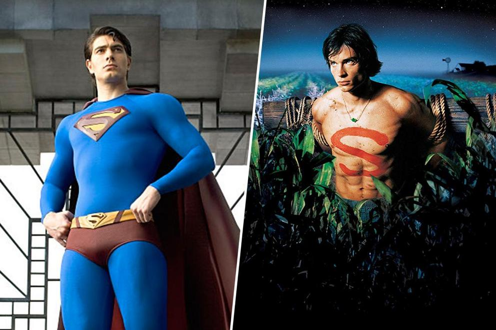 Which returning Superman are you most excited about: Brandon Routh or Tom Welling?