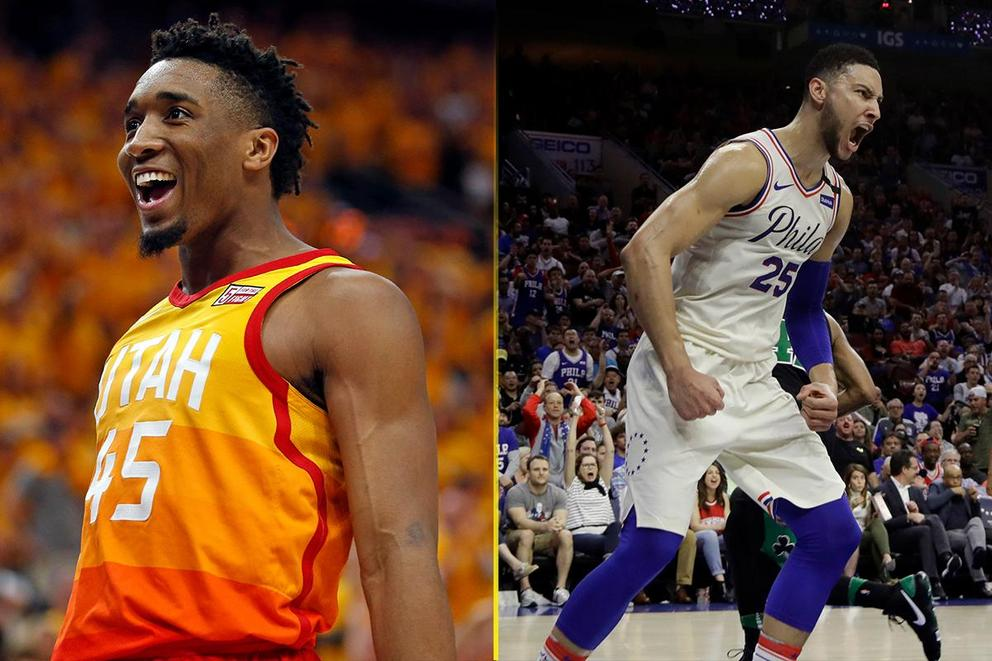 Who is the NBA Rookie of the Year: Donovan Mitchell or Ben Simmons?