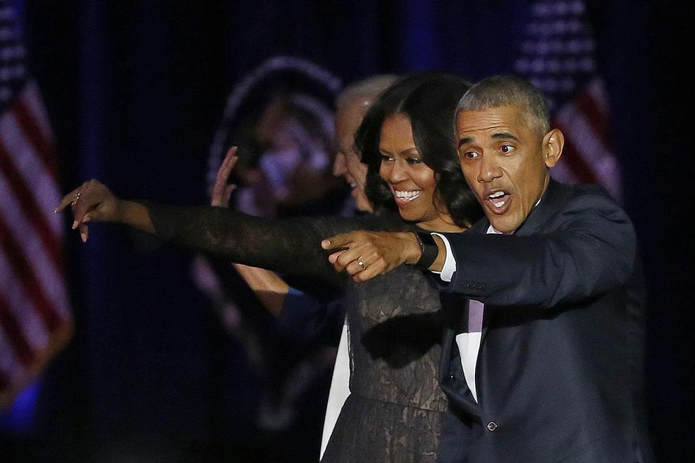 Do you miss the Obamas?