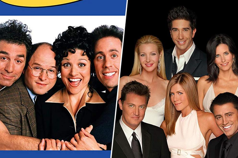 Favorite '90s sitcom: 'Seinfeld' or 'Friends'?