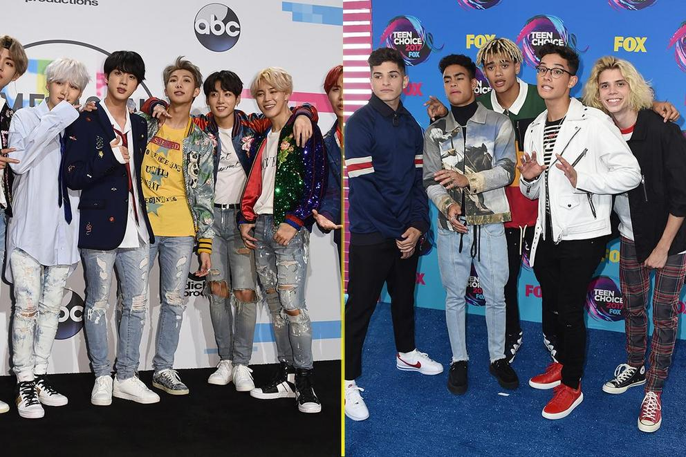iHeartRadio Best Boy Band: BTS or PrettyMuch?
