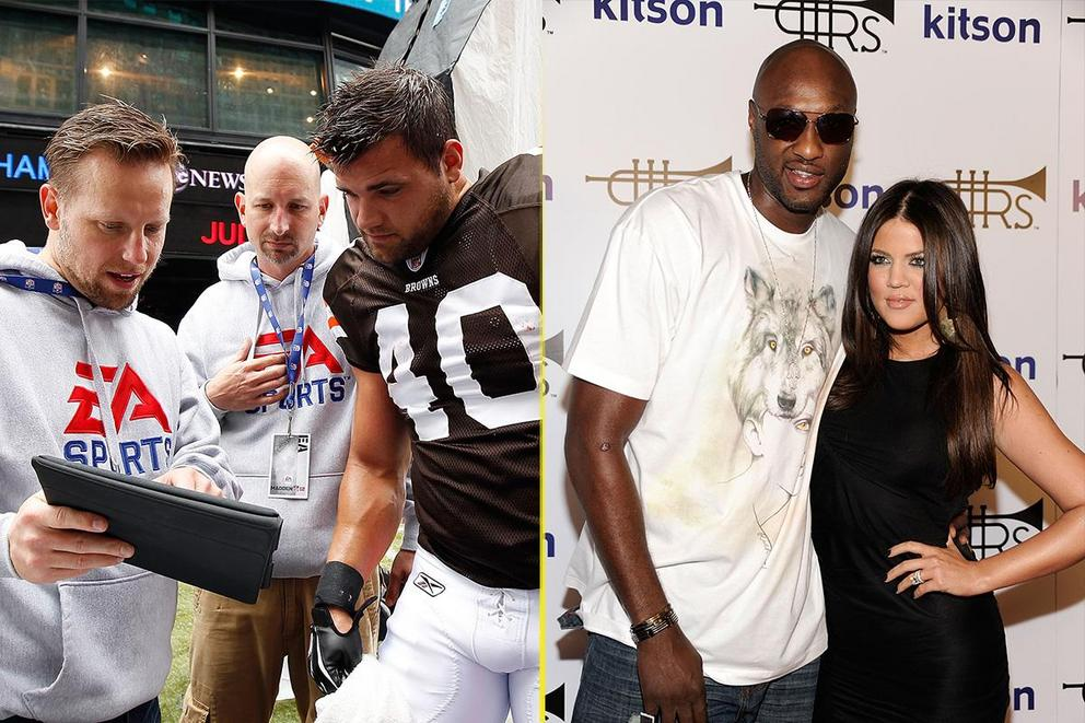 Which sports hex is scarier: Madden Curse or Kardashian Curse?
