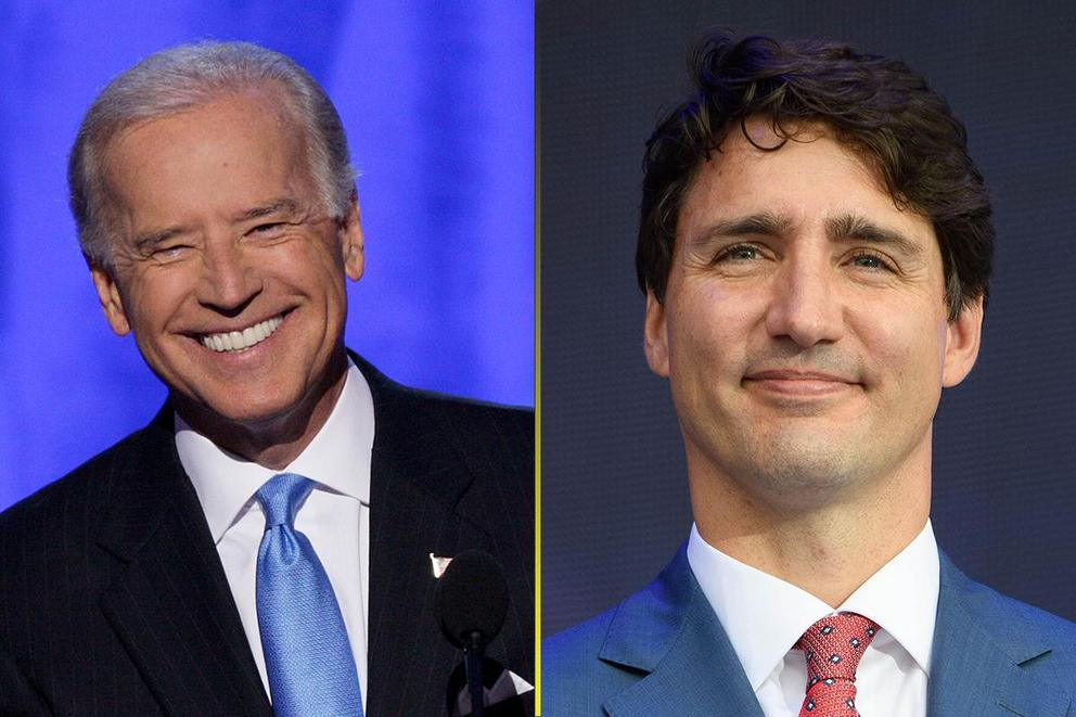 Who had the best bromance with Barack Obama: Joe Biden or Justin Trudeau?