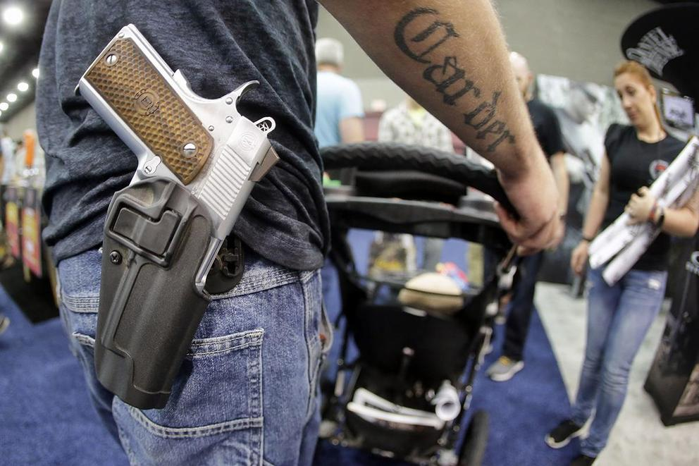 Should people be allowed to carry guns wherever they want?