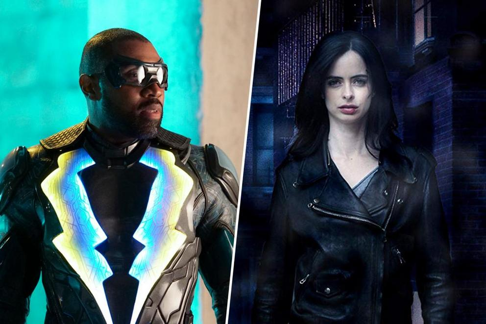 Ultimate '10s superhero show: 'Black Lightning' or 'Jessica Jones'?