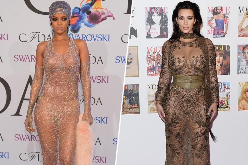 Favorite style icon of today: Rihanna or Kim Kardashian?