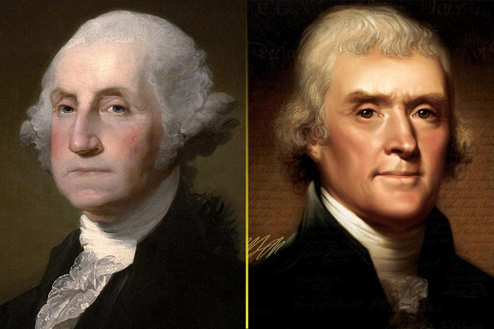 Greatest founding father: George Washington or Thomas Jefferson?