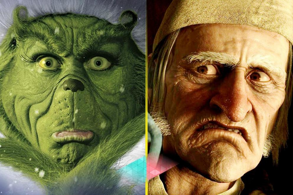 Who is the best Christmas villain: The Grinch or Scrooge?