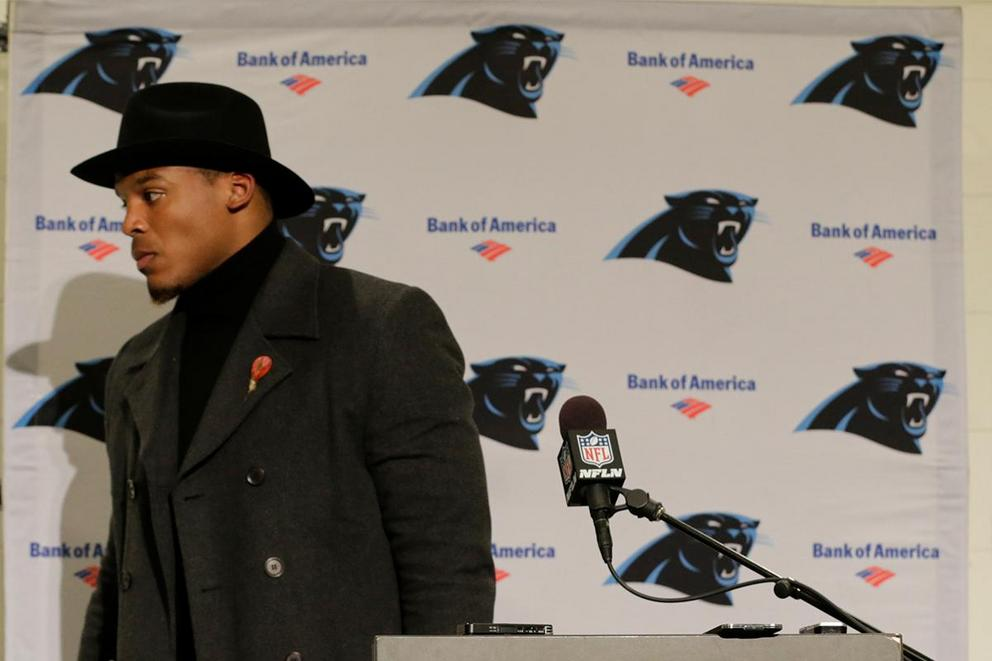 Is Cam Newton the biggest baby in the NFL?