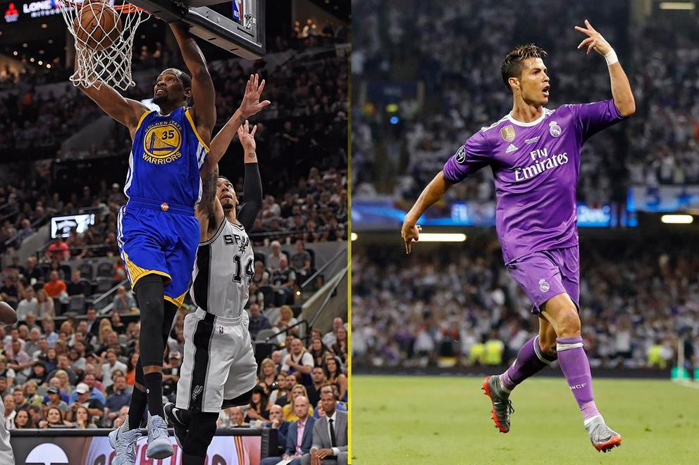 Best athlete of 2017 so far: Kevin Durant or Cristiano Ronaldo?