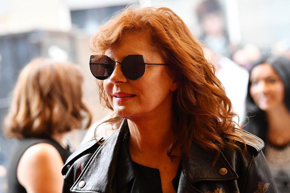 Does Susan Sarandon need to have a seat?