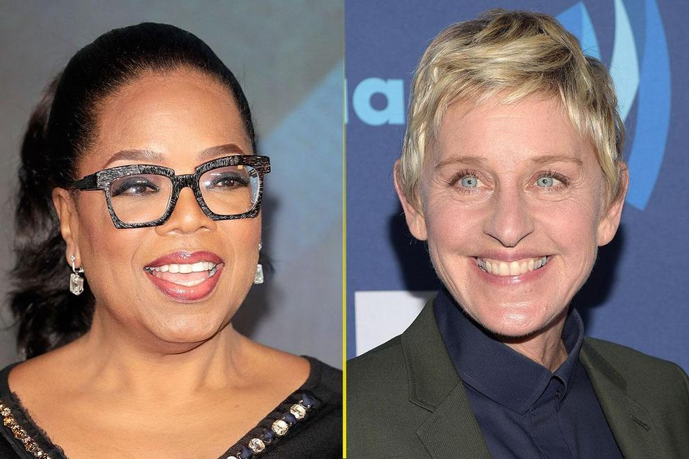 Most beloved daytime talk show host ever: Oprah Winfrey or Ellen DeGeneres?