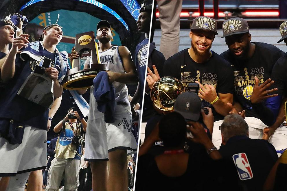 What's more fun to watch: March Madness or the NBA Playoffs?