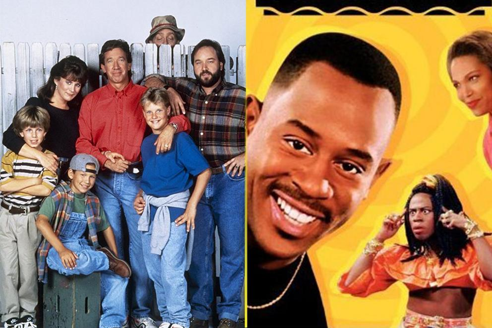 Best sitcom only '90s kids would remember: 'Home Improvement' or 'Martin'?