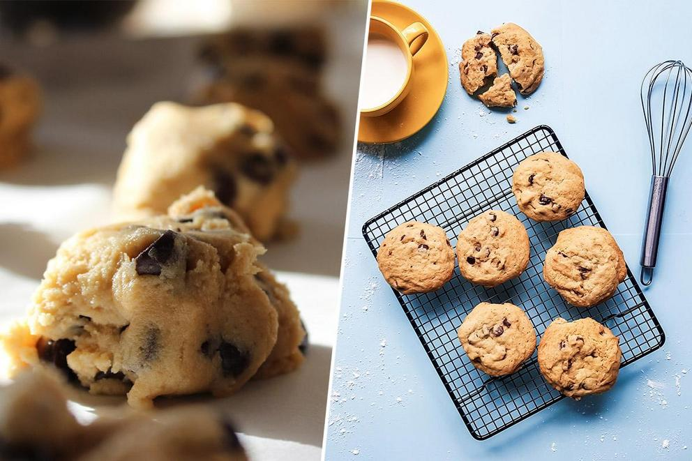 Which is better: the cookie dough or the cookie?