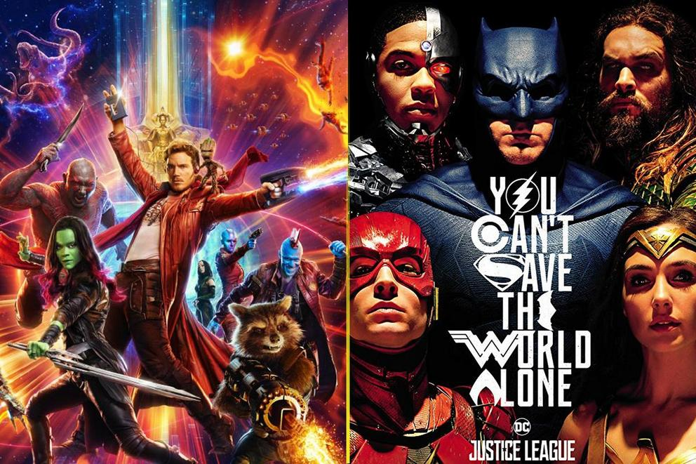 Superhero movie of the year: 'Guardians of the Galaxy Vol. 2' or 'Justice League'?