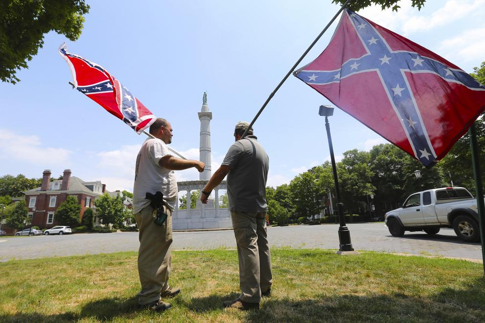 Should Confederate monuments be banned?