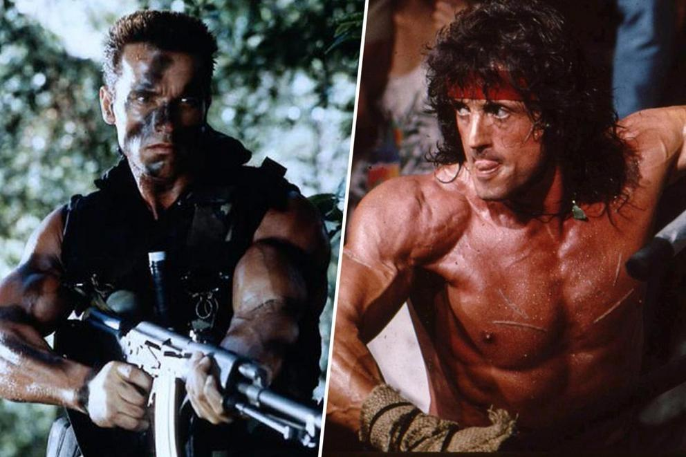 Ultimate action hero: Arnold Schwarzenegger or Sylvester Stallone?