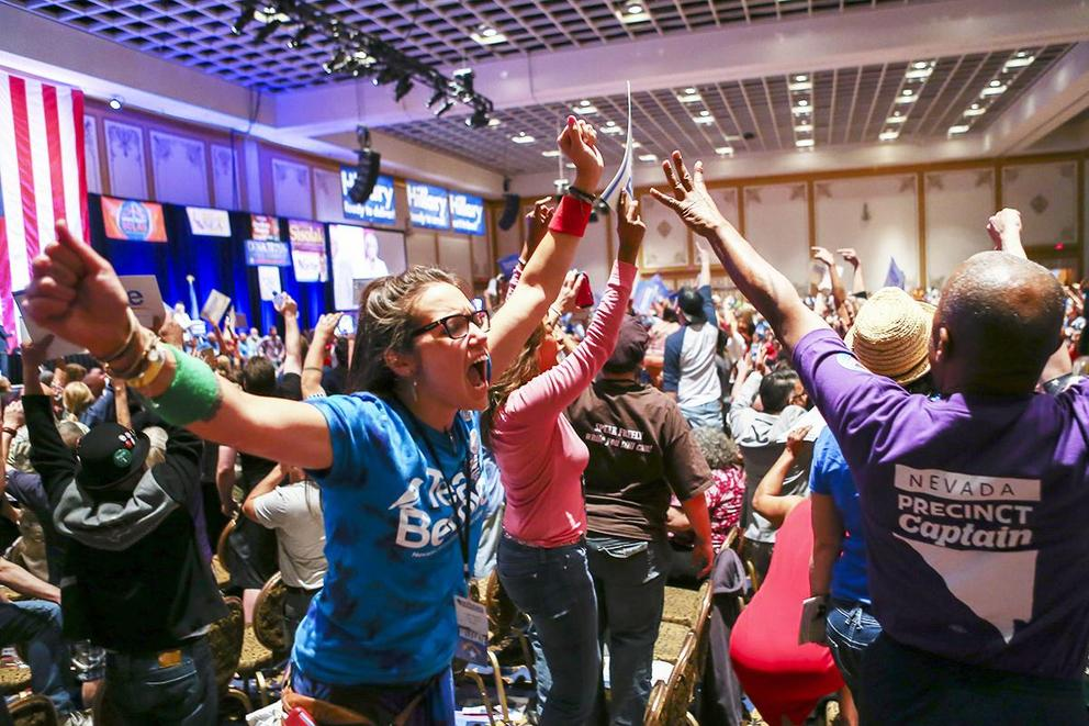 After chaos in Nevada, is the Democratic Party headed toward a violent division?