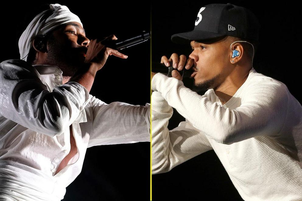Favorite hip-hop artist: Childish Gambino or Chance the Rapper?