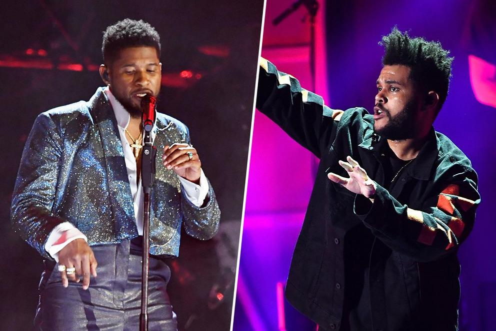 Favorite R&B singer: Usher or The Weeknd?