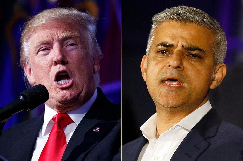 Does President Trump owe the mayor of London an apology?