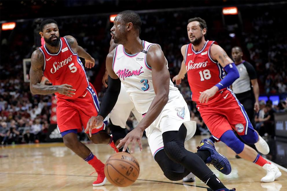 Who will survive the first round of the NBA Playoffs: Philadelphia 76ers or Miami Heat?