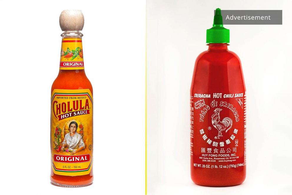 Favorite everyday hot sauce: Cholula or Sriracha?