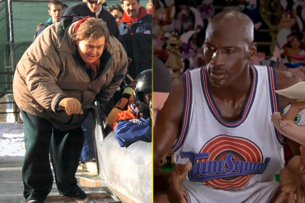 Greatest sports movie of all time: 'Cool Runnings' or 'Space Jam'?