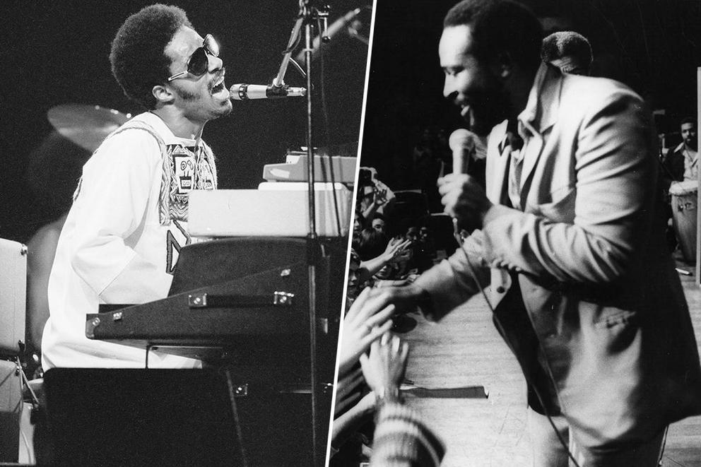 More influential soul legend: Stevie Wonder or Marvin Gaye?