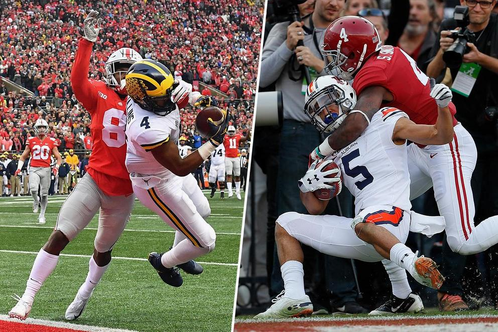 Best college rivalry: Ohio State-Michigan or  Alabama-Auburn?