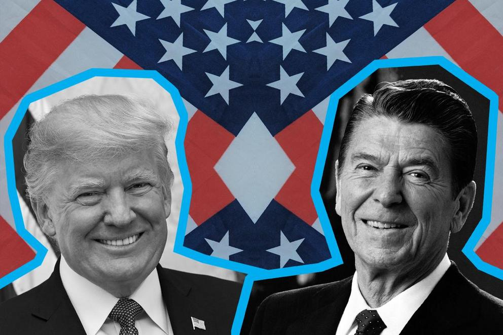 Most influential president: Ronald Reagan or Donald Trump?