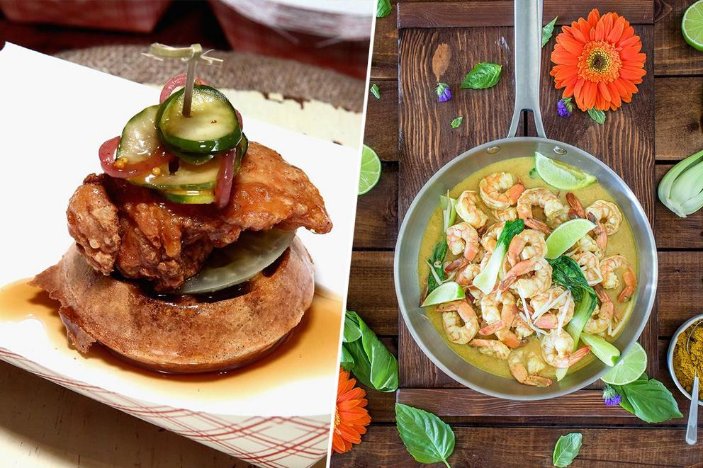 Ultimate brunch dish: Chicken and waffles or shrimp and grits?