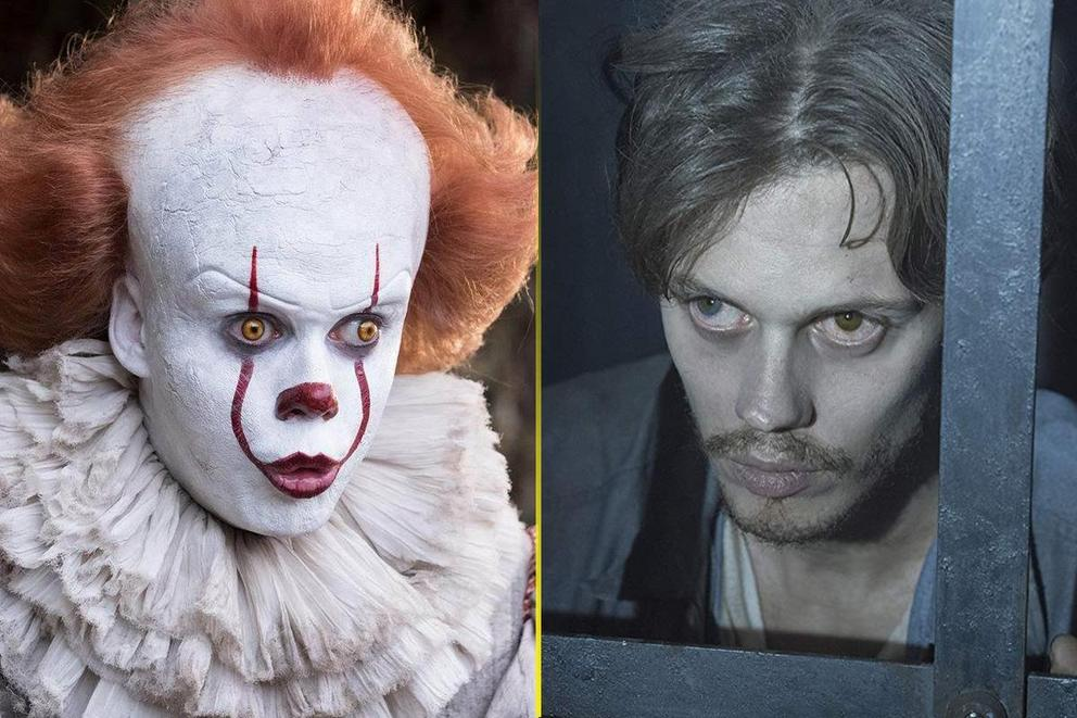 Bill Skarsgård's creepiest role: Pennywise or The Kid?