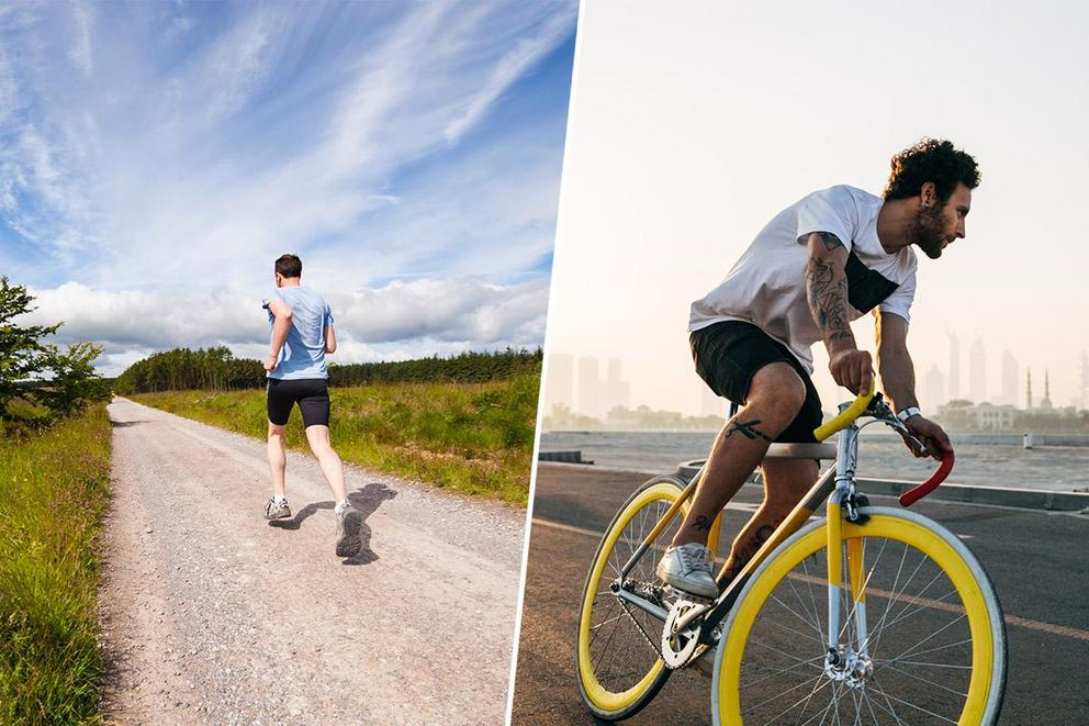 Best form of cardio: Running or biking?