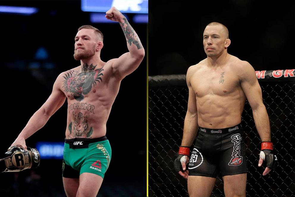 Who would win in a fight: Conor McGregor or Georges St. Pierre?