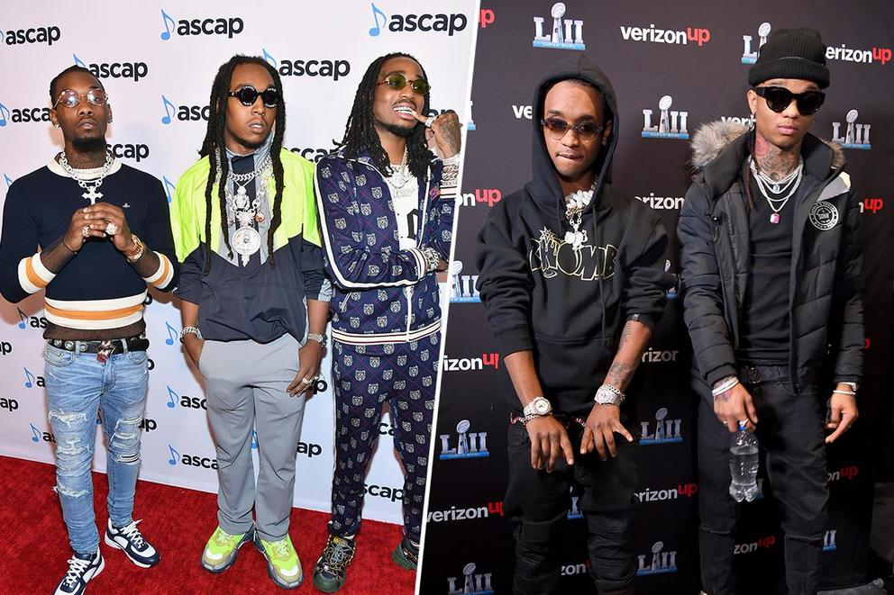 Favorite trap/hip-hop group: Migos or Rae Sremmurd?