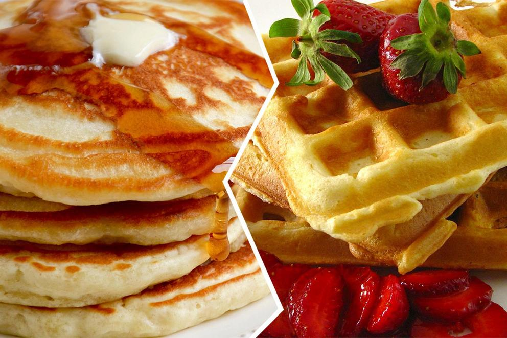 Are pancakes better than waffles?